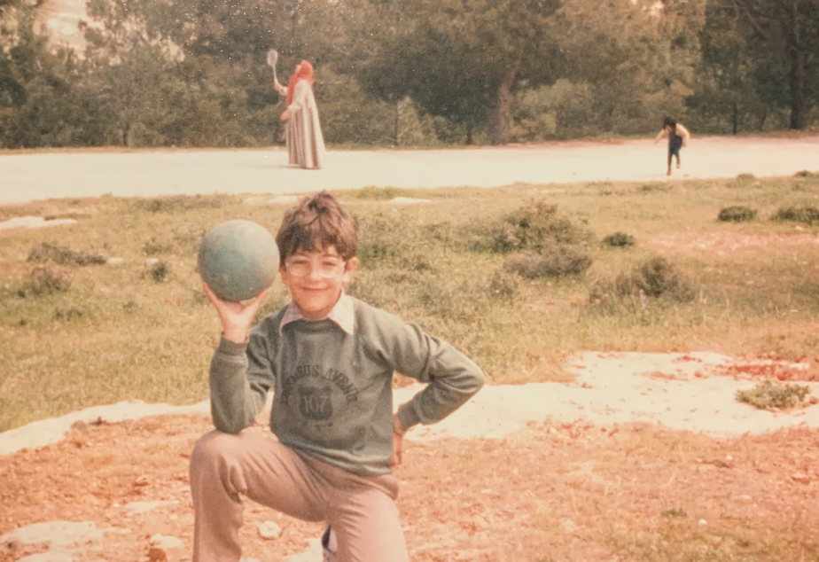 caption: Zaki Hamid, the author of this article and community engagement director at KUOW, in Amman, Jordan, at age 8. Hamid's family moved to Jordan from the West Bank in 1967.