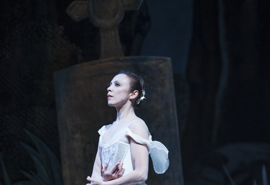 Kaori Nakamura dances the title role in Pacific Northwest Ballet's reconstruction of the classic ballet 'Giselle'