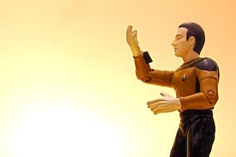 Data, the sentient robot from Star Trek, The Next Generation