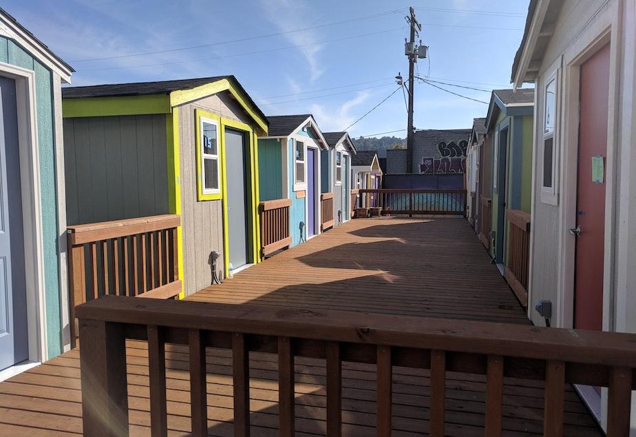 Photos Tiny House Seattle Wa: Inside The New South Lake Union Tiny House Village