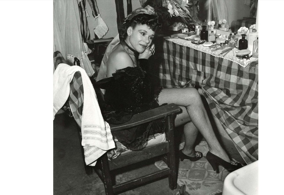 Katherine Dunham at the Civic Auditorium in 1948. Dunham was a published author with a PhD in anthropology ... not to mention being a leader of a successful African American dance troupe.