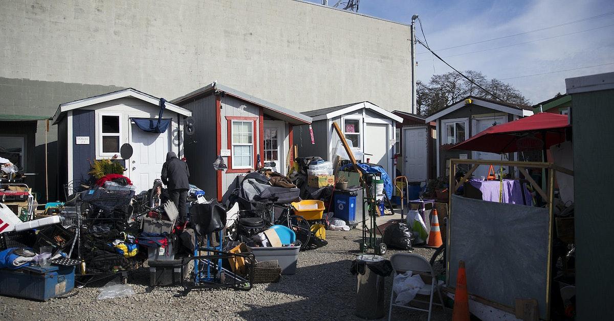 Photos Tiny House Seattle Wa: Tiny House Village On Aurora Ave Set To Close