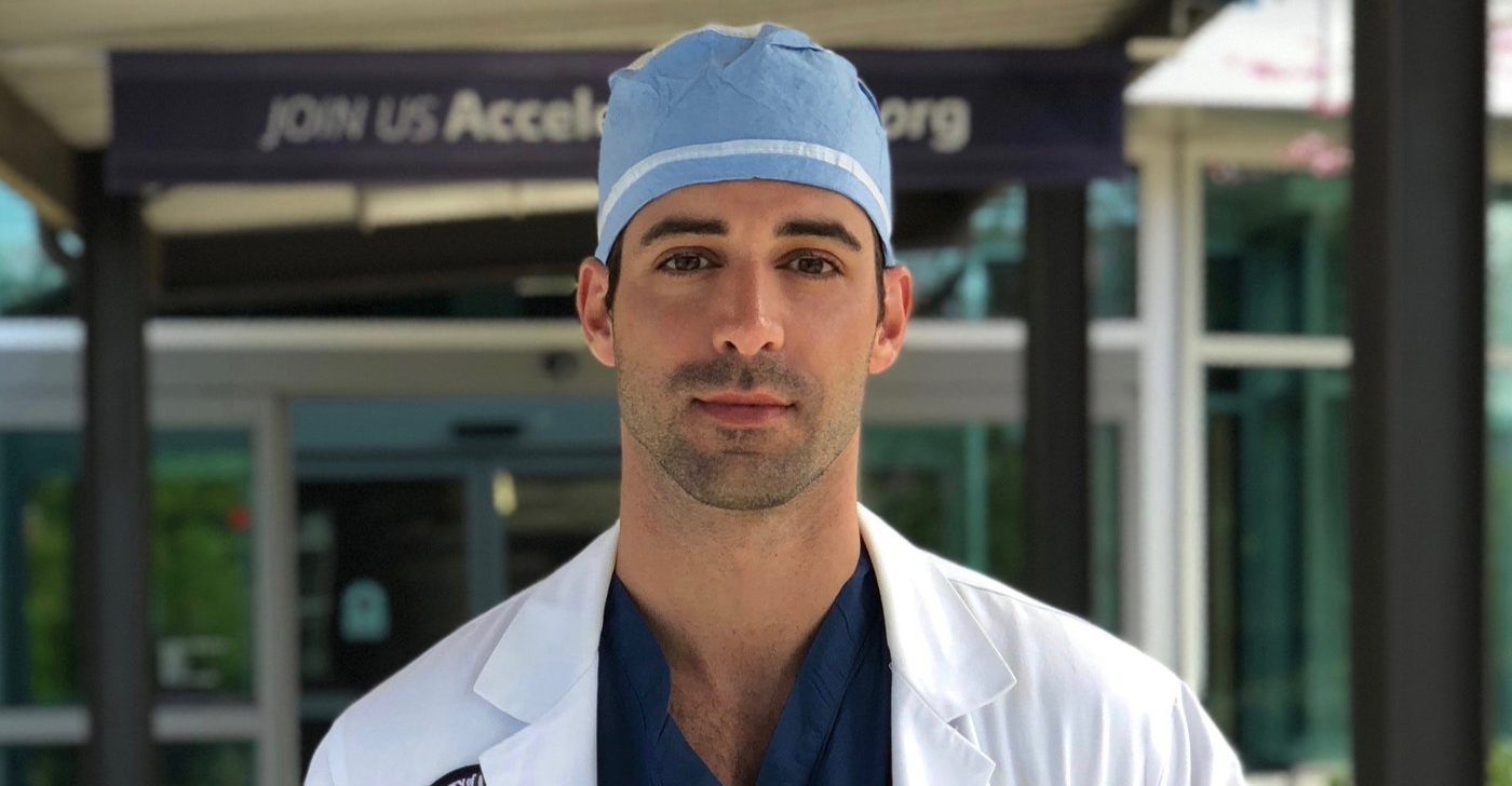 caption: Dr. Amer Nassar is a general surgery chief resident with the University of Washington