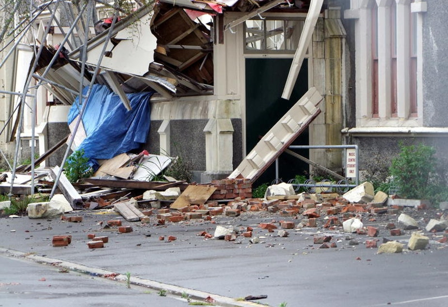 Seismologists look to the earthquake that occured in Christchurch, New Zealand in 2011 (pictured here) for clues about what could happen in Seattle and Washington state.