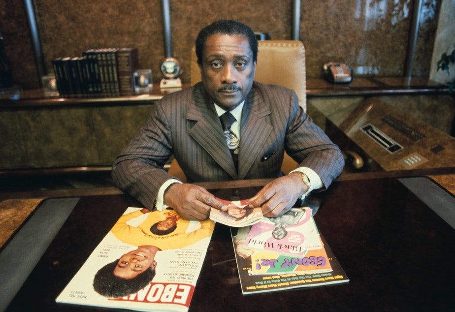 Founder of <em>Ebony</em> magazine and Johnson Publishing Company John H. Johnson. Almost 15 years after the company was handed down to his daughter, JPC is filing for bankruptcy.
