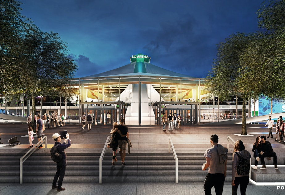 New Seattle Center Arena Rendering