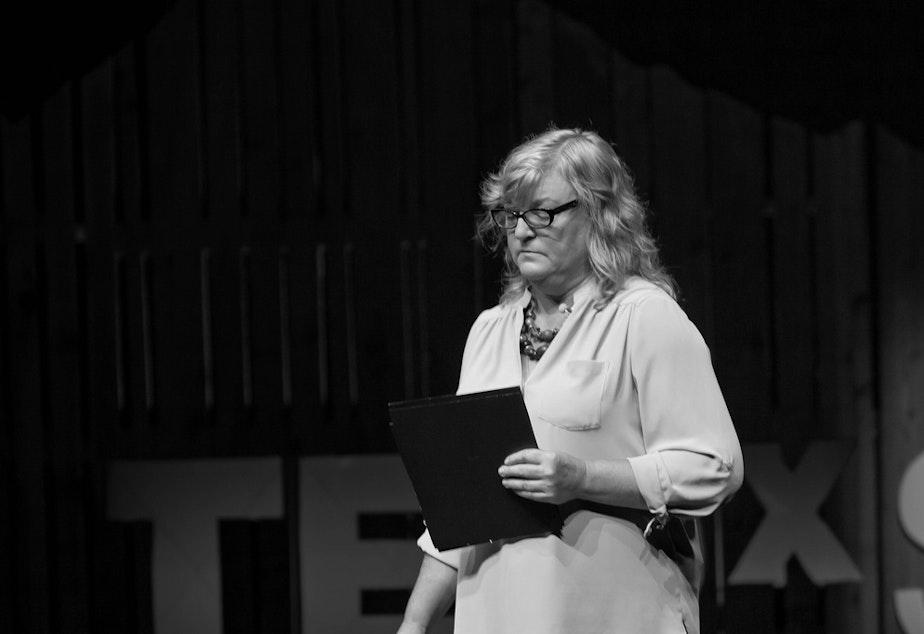 Cheryl Stumbo at TEDx Seattle in 2013.