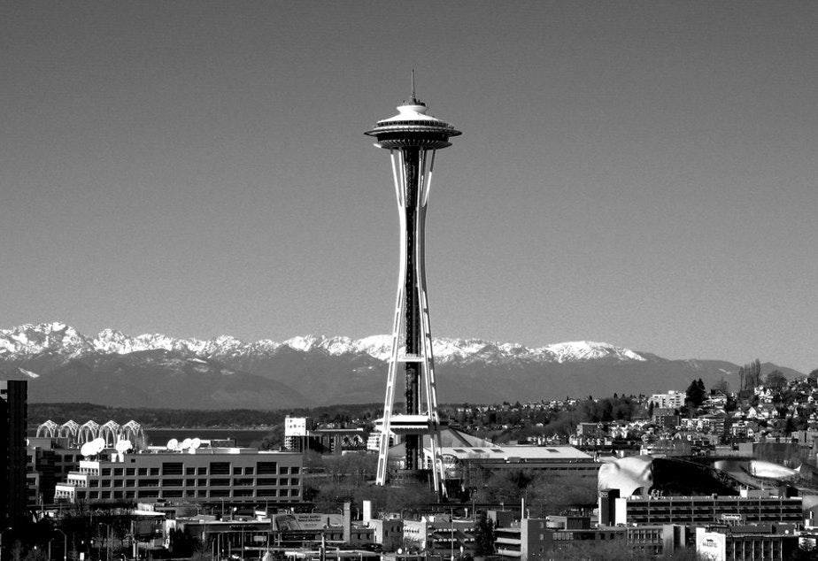 File photo of Seattle skyline.