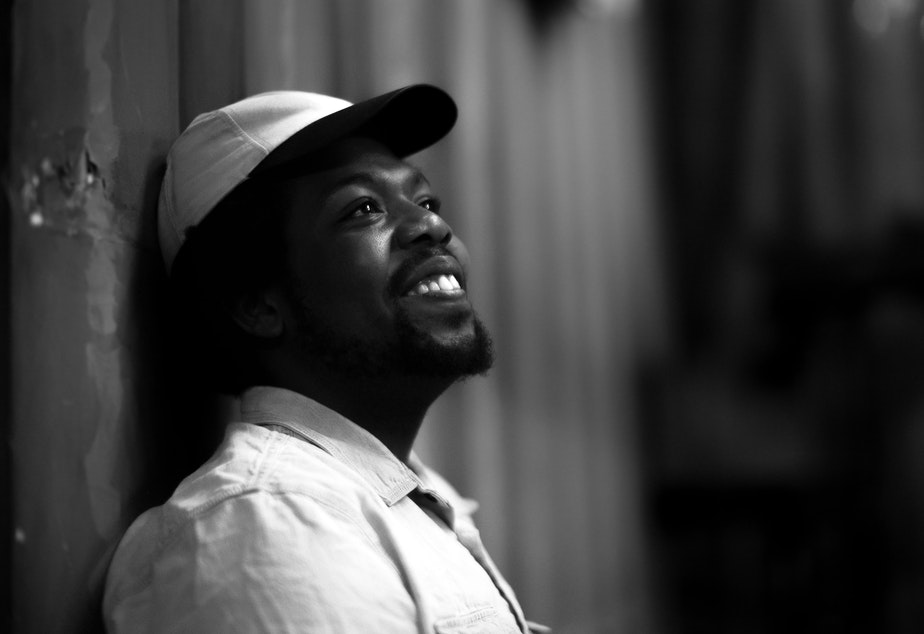 caption: Multimedia artist Austin Antoine, who joins musician Joe Kye in I See In Color, their latest song for #AZNxBLM. Hear the song at RockPaperRadio.com