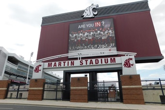 Martin Stadium on the campus of Washington State University in Pullman