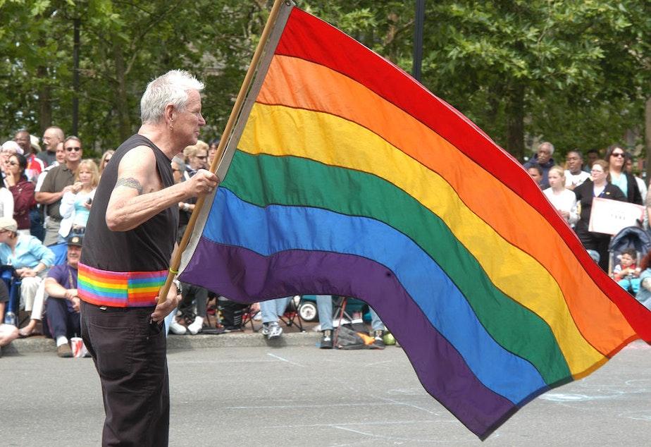 2005 Gay Pride Parade in Seattle.