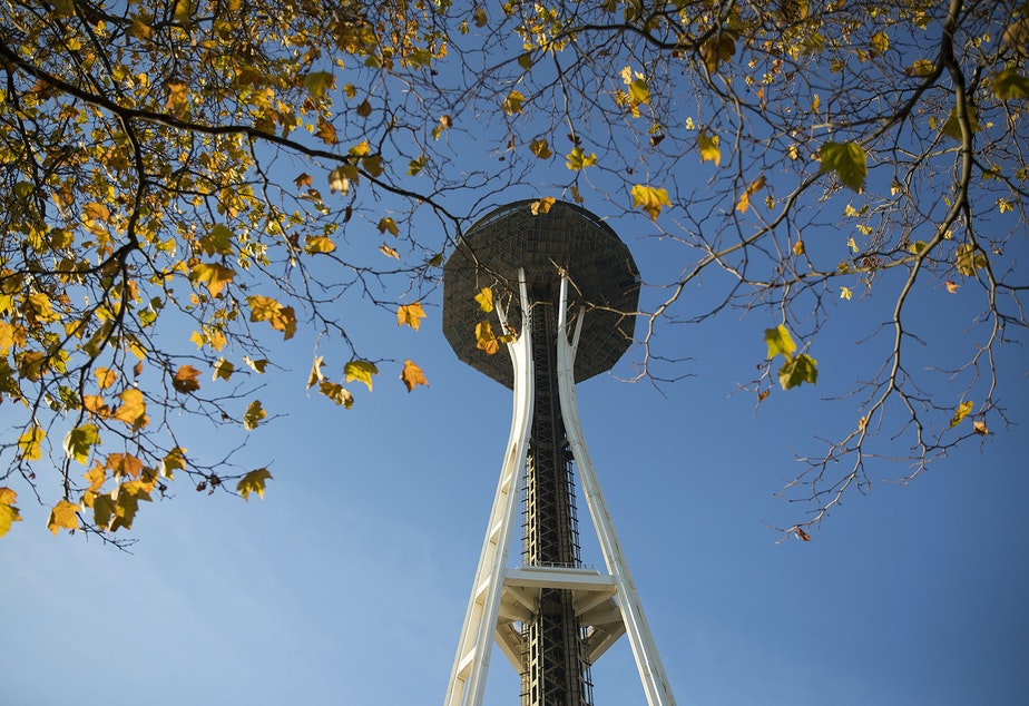 File: Space Needle shown in November, 2017.