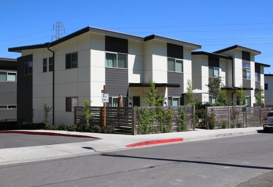 A recent residential development in Rainier Beach