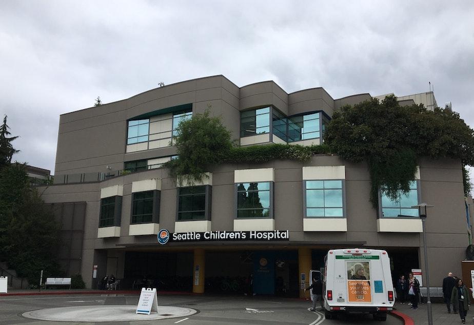caption: Seattle Children's Hospital