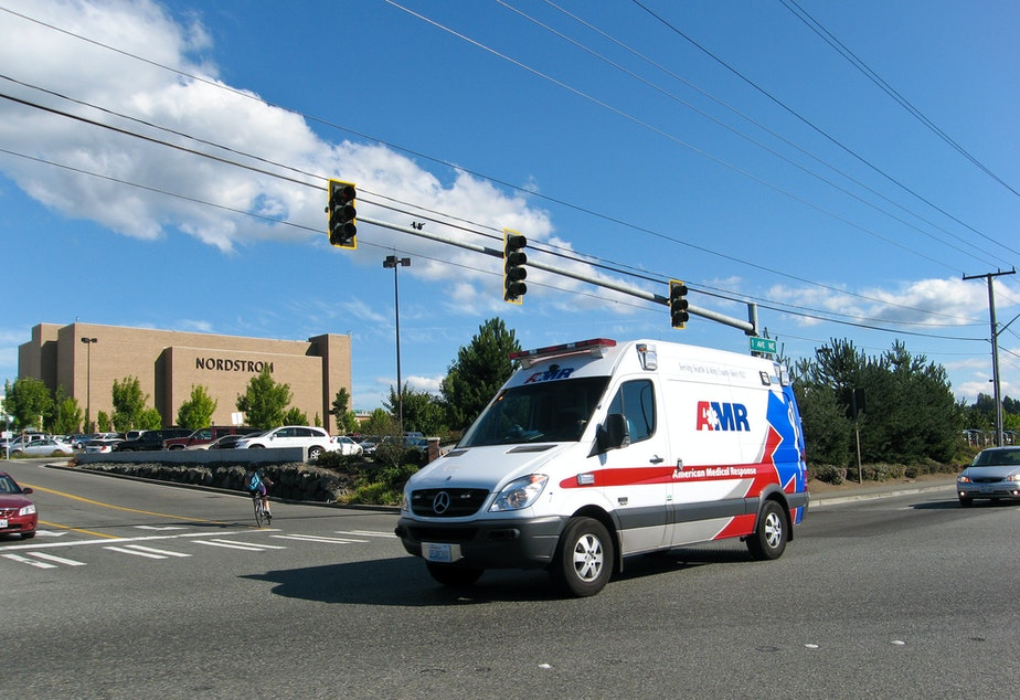 American Medical Response employs about 450 paramedics and EMTs in Seattle.