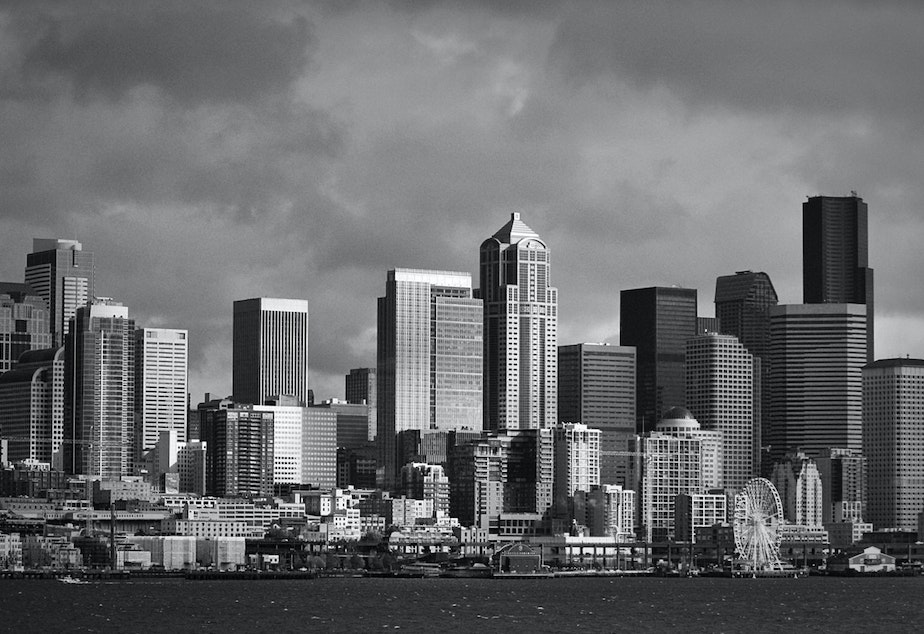 caption: Seattleites' tax burden overall is pretty low, unless you're poor, according to an analysis by the District of Columbia government.