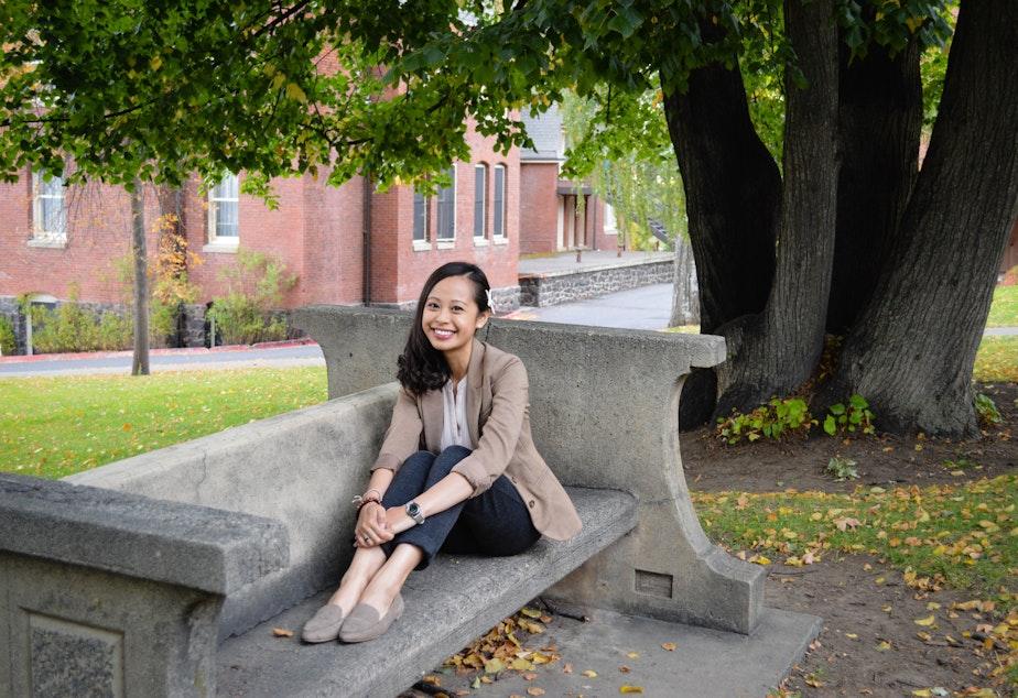 caption: Eastern Oregon University Professor Tabitha Espina