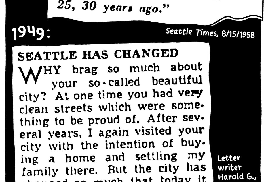 walk report Seattle Walk Report: complaints in 1940's and 1950's