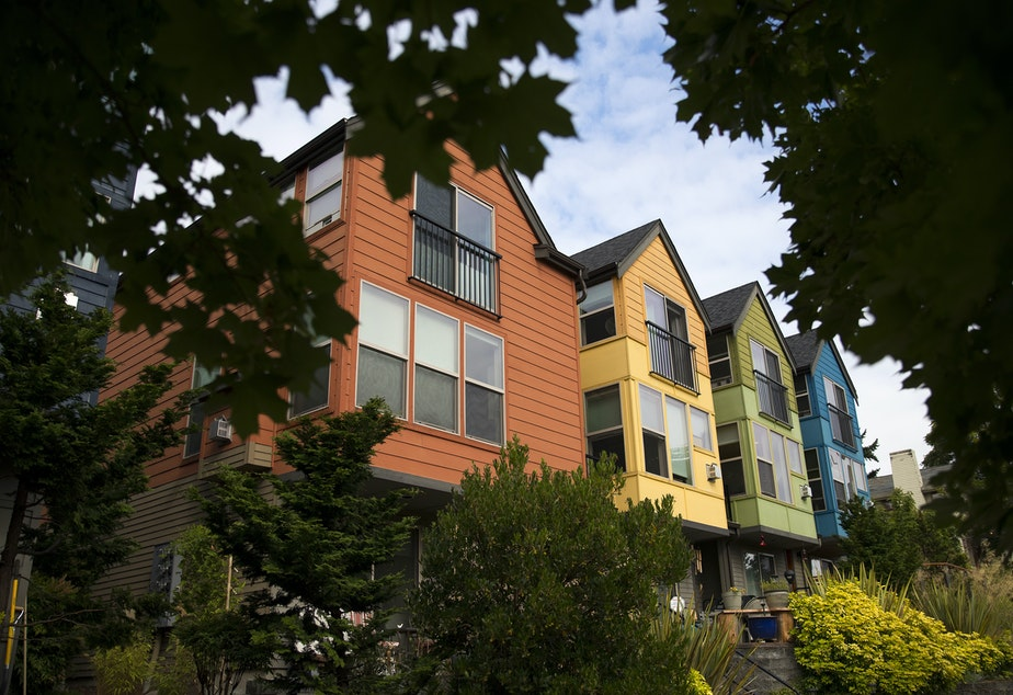 caption: Housing costs contribute dramatically to the high basic cost of living in Seattle.
