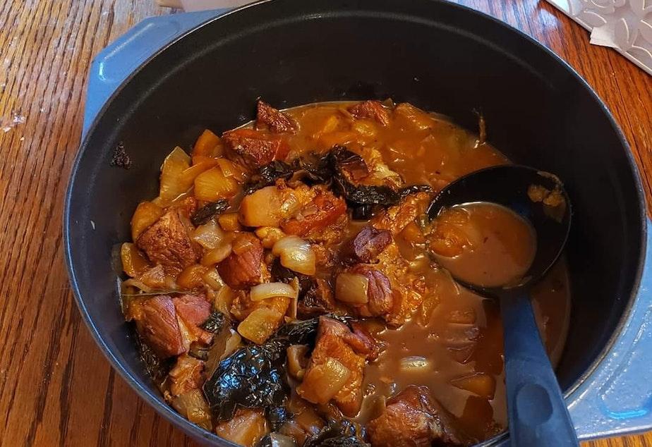 Peruvian pork stew