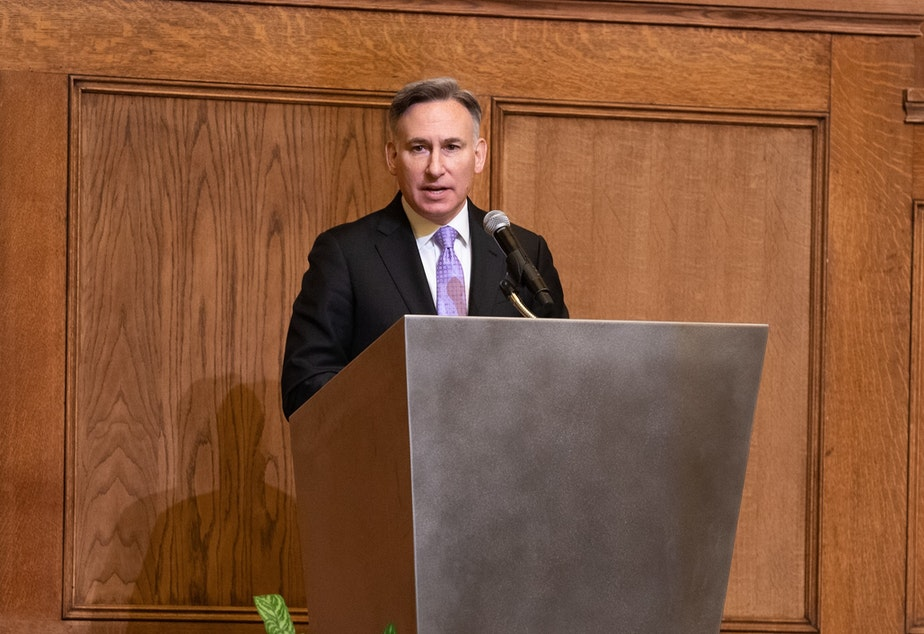 caption: King County Executive Dow Constantine at The Sanctuary