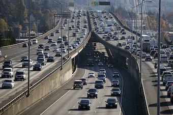 Traffic on I-5