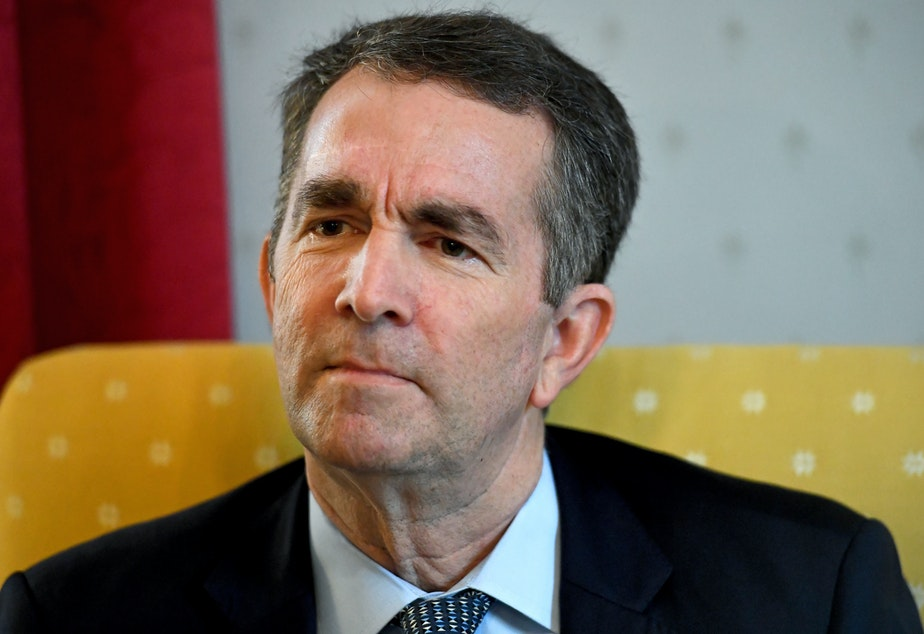 "caption: Va. Gov. Ralph Northam announced on Friday that he is ""deeply disturbed"" by reports of a young girl being strip searched at a corrections facility last month."