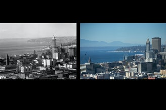 1950s and 2018 Seattle