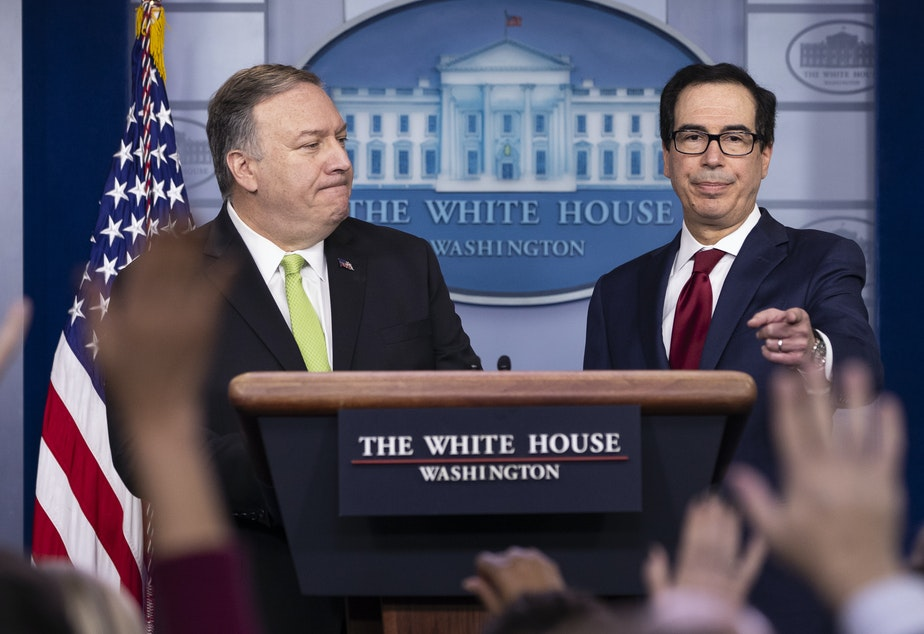 The Trump administration is imposing a new round of sanctions against Iran.