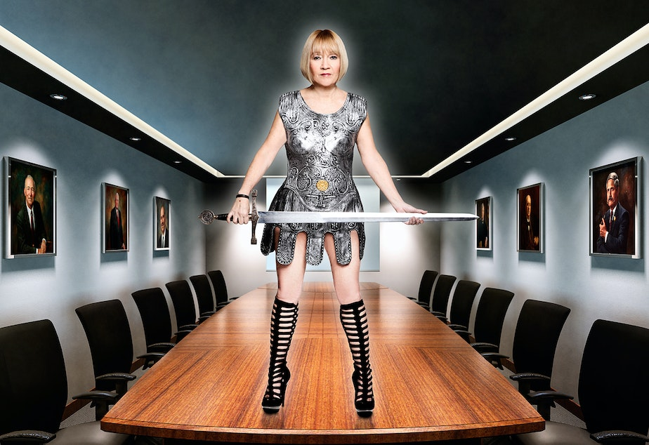 caption: Make Love Not Porn founder and CEO Cindy Gallop.