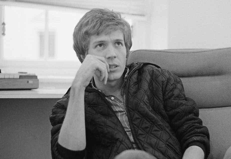 Scott Walker, seen here in November 1970, has died at the age of 76.