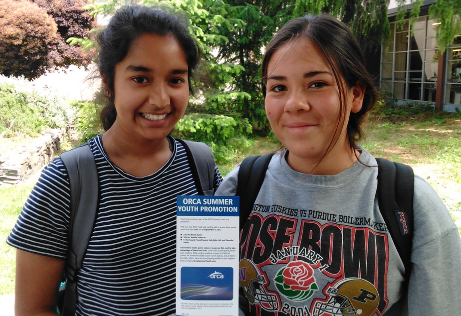 KUOW - These students will ride the bus for just 50 cents