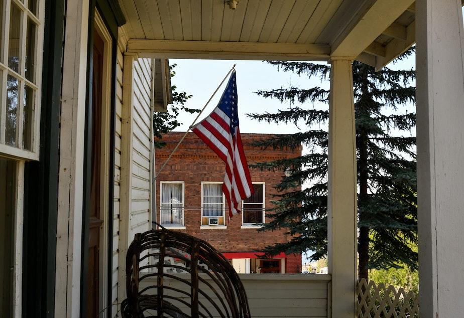 caption: Eastern Washington scene