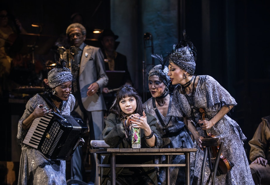 Kuow Anais Mitchell S Hadestown Musical Makes Its