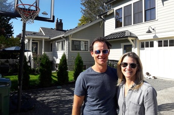 Andrew and Emmye Cahn built a backyard cottage at their home in NE Seattle.