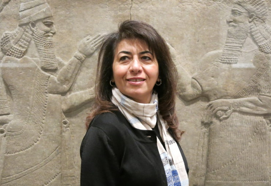 Iraqi-American poet Dunya Mikhail
