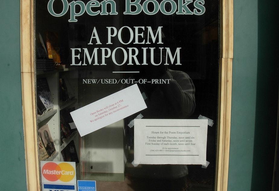 KUOW - Seeking Energetic Poetry Lover To Buy Seattle Landmark
