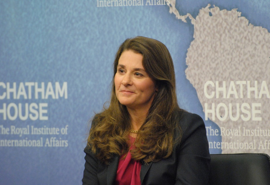 Melinda Gates, Co-founder, Bill and Melinda Gates Foundation, in 2014.