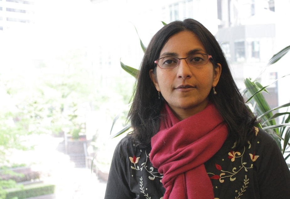 caption: Many have wondered what Kshama Sawant's next fight will be, now that Seattle has a $15 minimum wage (to be phased in over several years). At City Hall on Thursday night, she'll make the case for legalizing rent control.