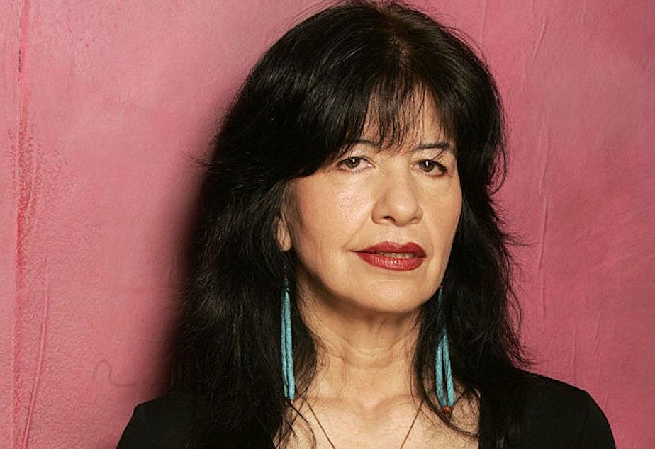 U.S Poet Laureate Joy Harjo.