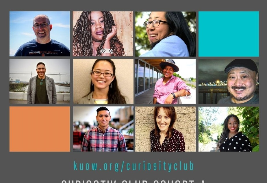 caption: KUOW's 4th cohort of Curiosity Club will come together following the 2020 election to reflect on the last four years and to look ahead to 2021.