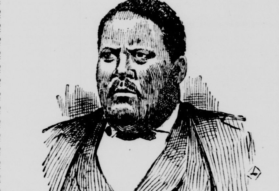 caption: A sketch of William Grose, the Seattle pioneer, who bought 12 acres of land in what is now part of the Central Area. Grose was a businessman who built Seattle's second-biggest hotel, Our House.