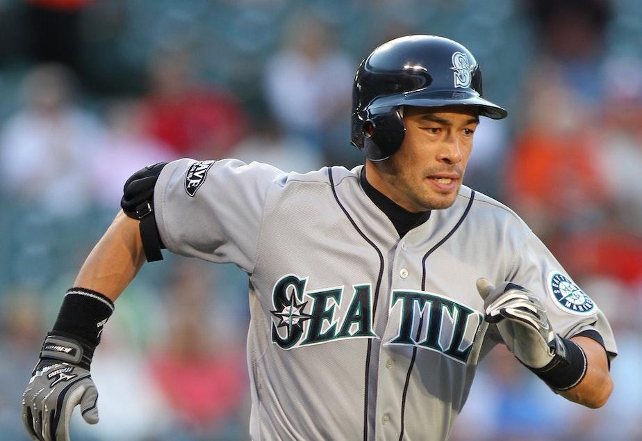 Ah, Mariners. Right fielder Ichiro Suzuki in simpler times.