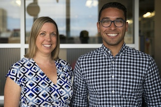 Summer Stinson, lawyer and Vice President of Washington's Paramount Duty and Daniel Zavala, director of policy and government relations with the League of Education Voters.