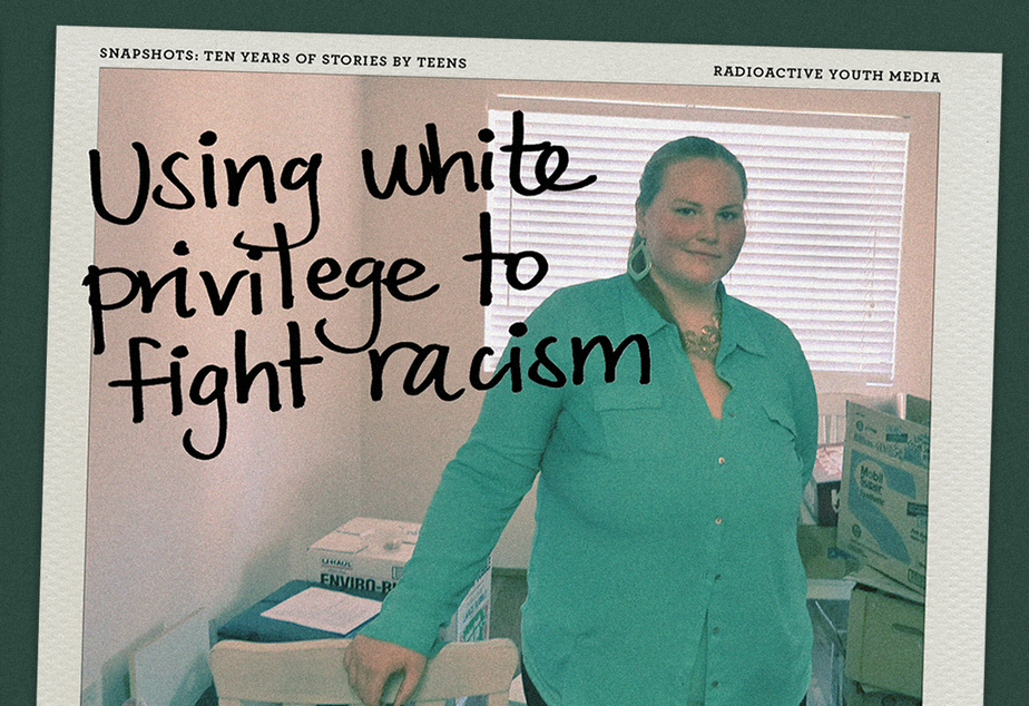 caption: Snapshots 2015 | Using white privilege to fight racism