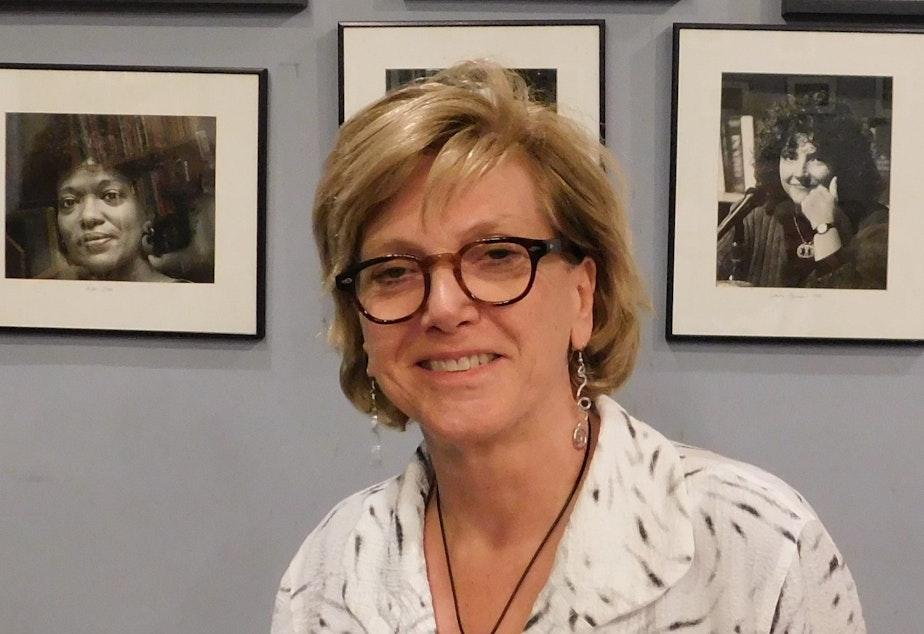 Marjorie Kelly at The Elliott Bay Book Company