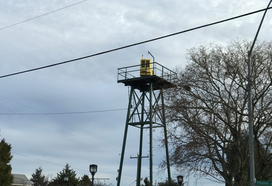 Air raid siren on Phinney Ridge