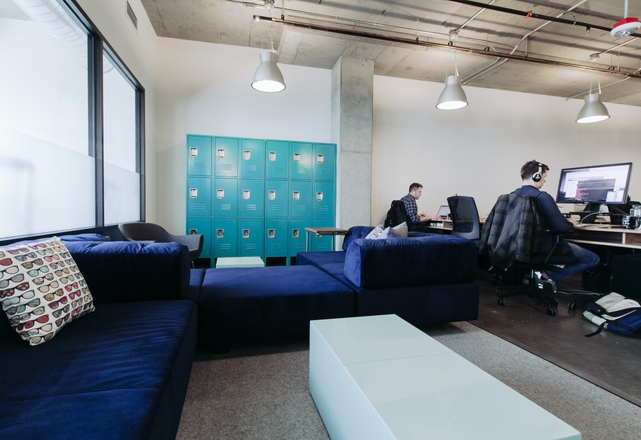Labs desks at WeWork can be rented for $300 per month and include additional access to investors, curated events, monthly demo days and office hours.