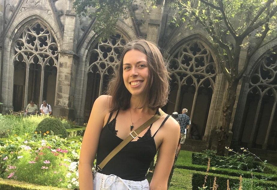 Flora Davis is a junior at the University of Washington. She's studying art and pursuing minors in environmental studies and entrepreneurship.