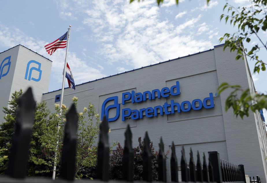 A Planned Parenthood clinic in St. Louis, Mo. Unless a federal court intervenes, Planned Parenthood says it will formally withdraw from the nation's family planning program for low-income people within days.